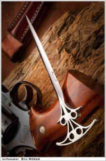 Нож / Билл Моран / Bill Moran Push Dagger / USA