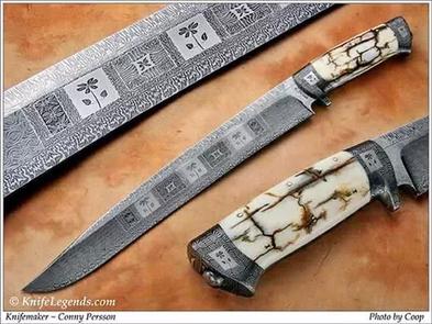 Нож / Конни Перссон / Conny Persson knife/  Sweden