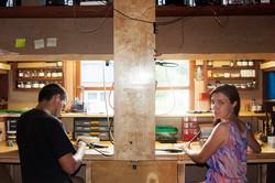 Мастерская: стол для правши и левши