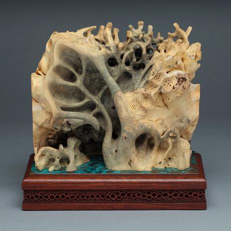 """""""Мечта"""". Необычная скульптура из дерева"""