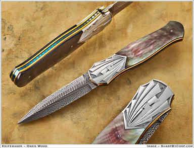 Нож / Оуэн Вуд /  Owen Wood / USA
