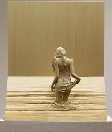 Девушка в море II, Питер Демец