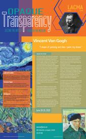 LACMA Poster: Van Gogh
