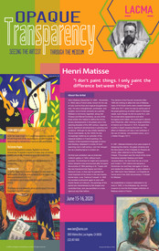 LACMA Poster: Matisse