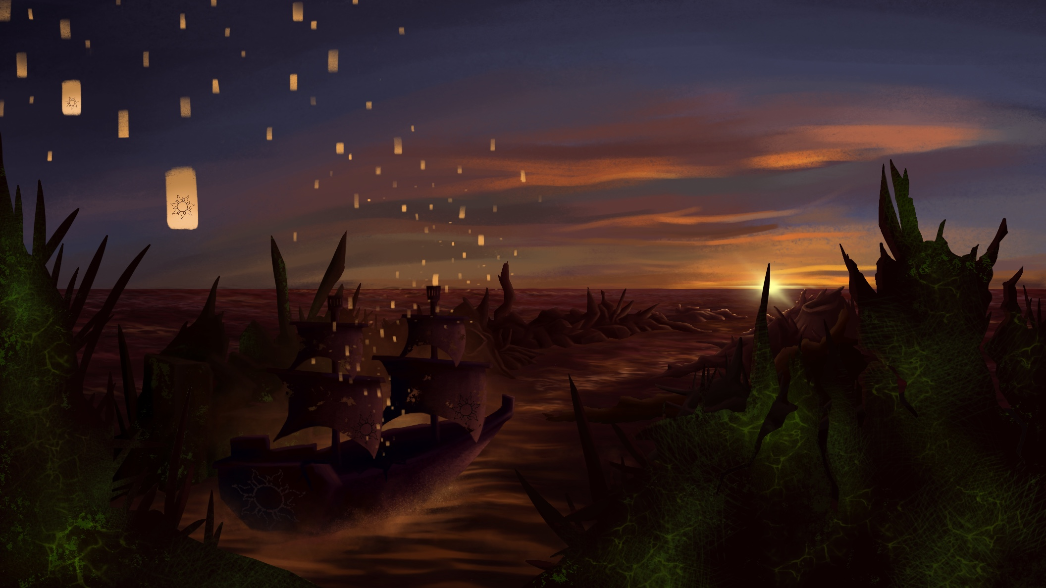 Rapunzel: Victorious Departure