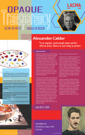 LACMA Poster: Calder