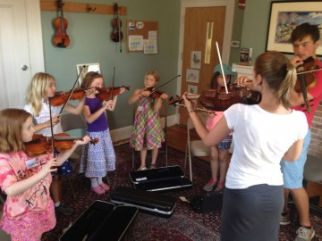 317 Main Launches New Partnership To Engage EECS 3rd Graders in Violin