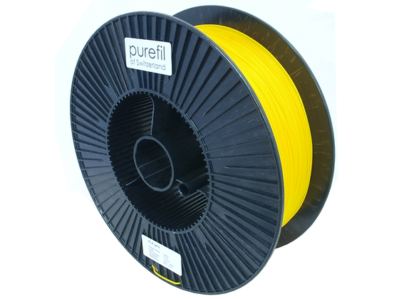 purefil PLA Filament gelb 2.5kg 1.75mm