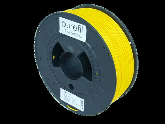 purefil ASA Filament gelb 1kg 1.75mm