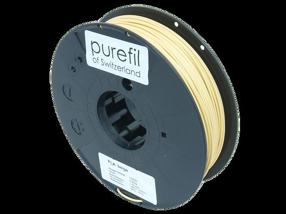 purefil PLA Filament beige 0.35kg 1.75mm