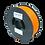 Thumbnail: purefil PLA Filament orange 1kg 1.75mm