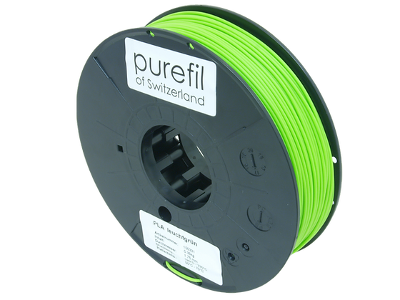 purefil PLA Filament leuchtgrün 0.35kg 1.75mm