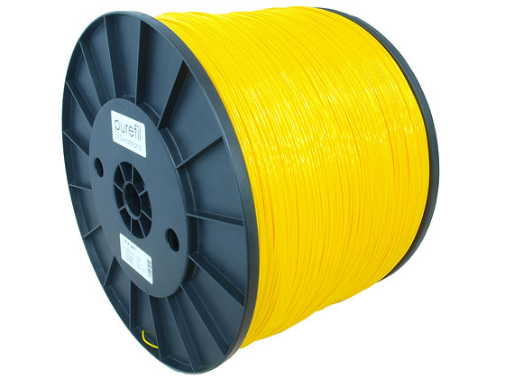 purefil PLA Filament gelb 10kg 1.75mm