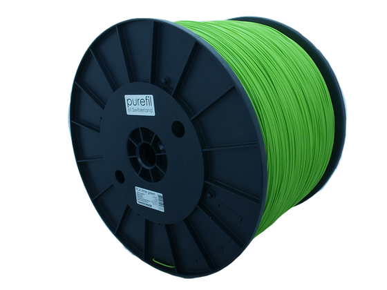 purefil PLA Filament leuchtgrün 10kg 1.75mm