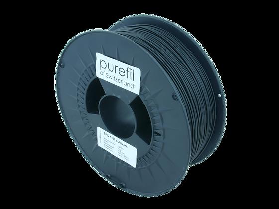 purefil TPC Filament 52D schwarz 1kg 1.75mm