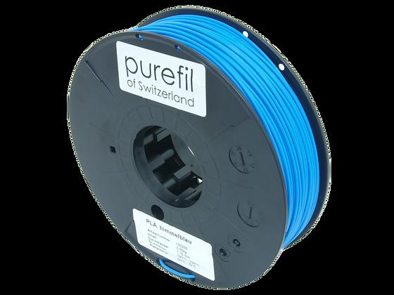 purefil PLA Filament himmelblau 0.35kg 1.75mm
