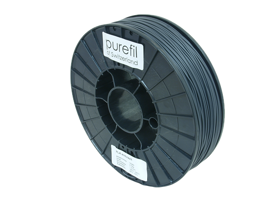 purefil PLA Filament anthrazit 0.75kg 1.75mm