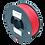 Thumbnail: purefil GreenTEC Filament rot 1kg 1.75mm
