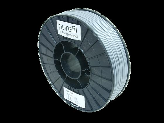 purefil PLA Filament silber 0.75kg 1.75mm