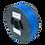 Thumbnail: purefil ABS Filament blau 1kg 1.75mm
