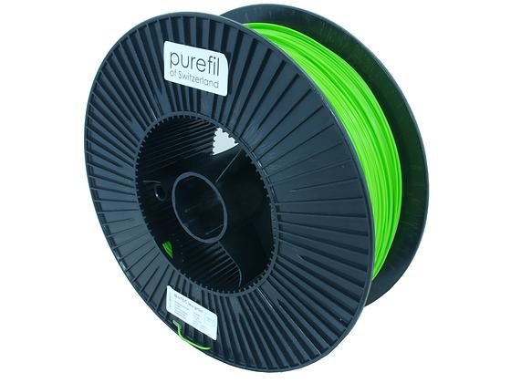 purefil bioTEC Filament leuchtgrün 2.5kg 1.75mm