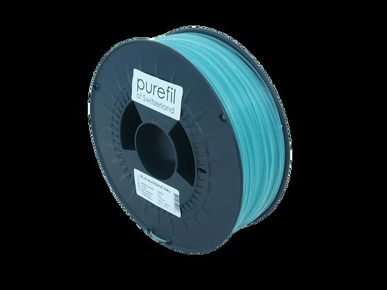 purefil PLA Filament leuchtend blau 1kg 1.75mm