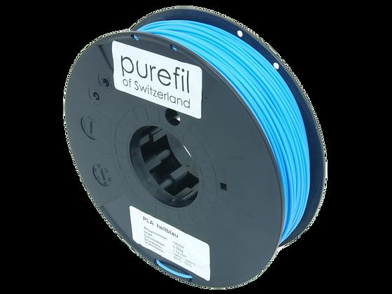 purefil PLA Filament hellblau 0.35kg 1.75mm