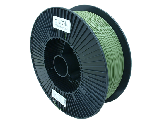 purefil PLA Filament schilfgrün 2.5kg 1.75mm