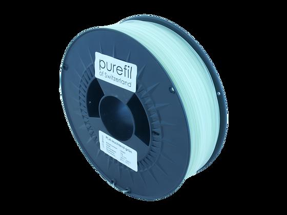 purefil PLA Filament leuchtend grün 1kg 1.75mm