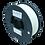 Thumbnail: purefil GreenTEC Filament weiss 1kg 1.75mm