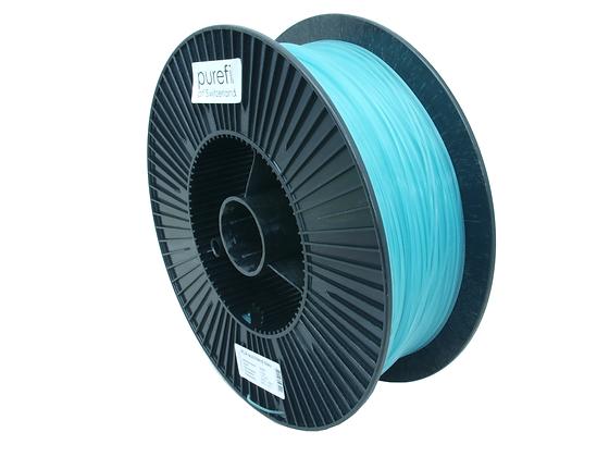 purefil PLA Filament leuchtend blau 2.5kg 1.75mm