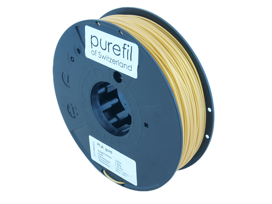 purefil PLA Filament gold 0.35kg 1.75mm