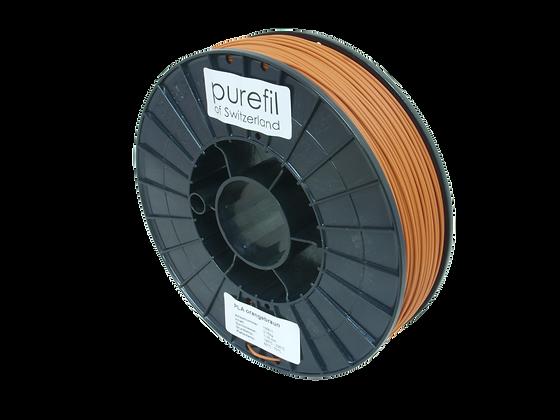 purefil PLA Filament orangebraun 0.75kg 1.75mm
