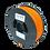 Thumbnail: purefil PLA Filament neonorange 1kg 1.75mm