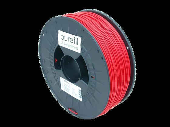 purefil ASA Filament rot 1kg 1.75mm