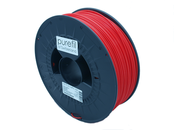 purefil LW-PLA Filament verkehrsrot 1kg 1.75mm