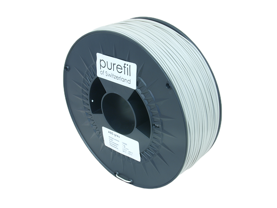 purefil ABS Filament grau 1kg 1.75mm