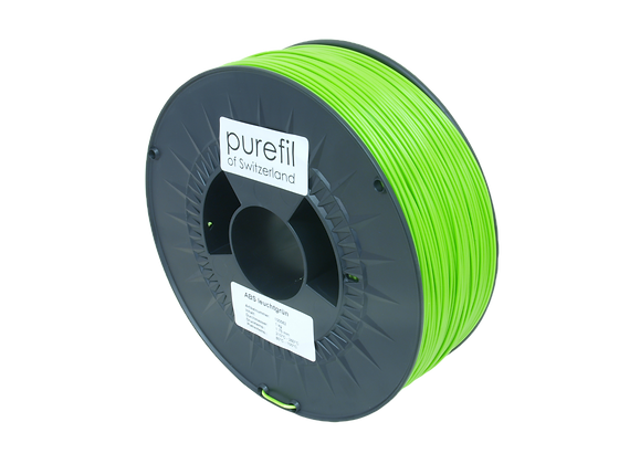 purefil ABS Filament leuchtgrün 1kg 1.75mm