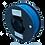Thumbnail: purefil PLA soft Filament enzianblau 1kg 1.75mm