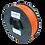 Thumbnail: purefil PLA Filament rotorange 1kg 1.75mm
