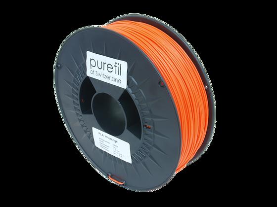 purefil PLA Filament rotorange 1kg 1.75mm