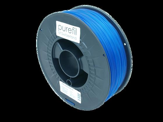 purefil TPU Filament 53D blau transparent 1kg 1.75mm