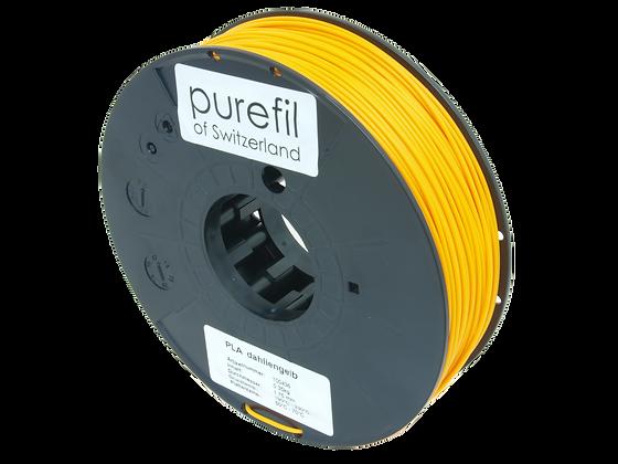 purefil PLA Filament dahliengelb 0.35kg 1.75mm