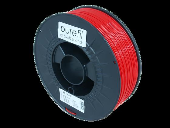 purefil PETG Filament rot 1kg 1.75mm