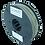 Thumbnail: purefil PLA Filament betongrau 0.35kg 1.75mm