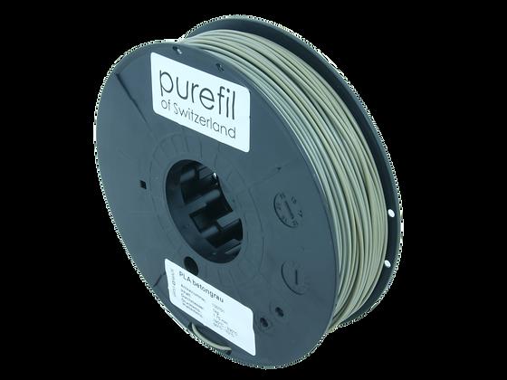 purefil PLA Filament betongrau 0.35kg 1.75mm