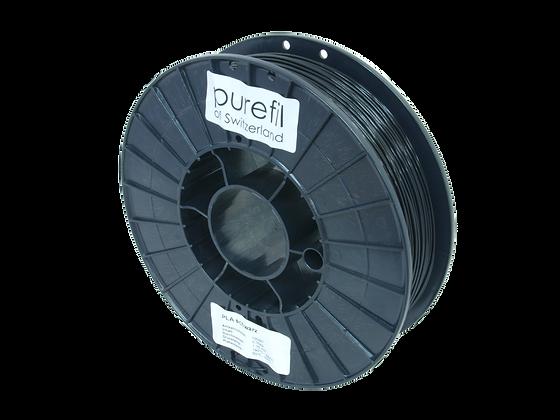 purefil PLA Filament schwarz 0.75kg 1.75mm