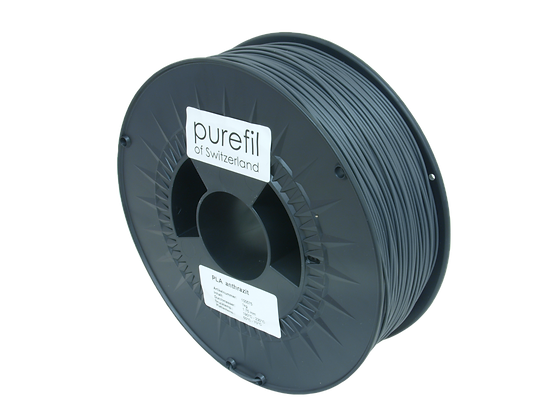 purefil PLA Filament anthrazit 1kg 1.75mm