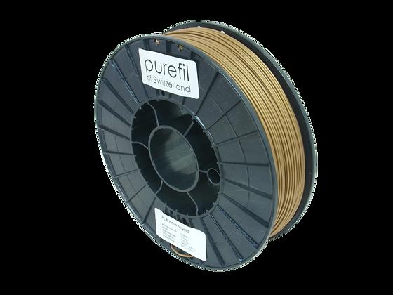 purefil PLA Filament bronzegold 0.75kg 1.75mm