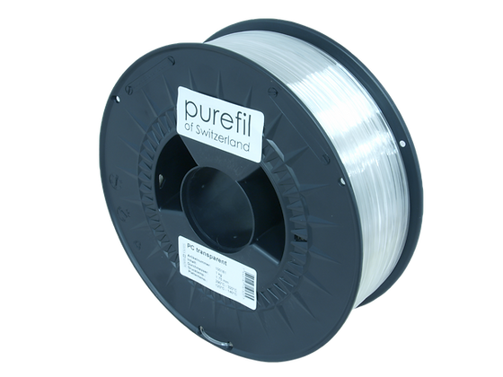 purefil PC Filament transparent 1kg 1.75mm